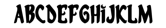 Eskindar Expanded Font UPPERCASE