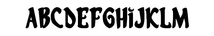 Eskindar Expanded Font LOWERCASE