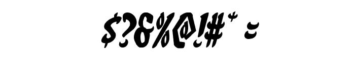 Eskindar Italic Font OTHER CHARS