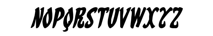 Eskindar Italic Font LOWERCASE