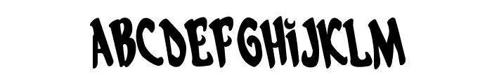 Eskindar Rotated Regular Font LOWERCASE