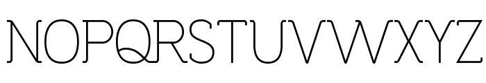 Espacio Novo Medium Font UPPERCASE