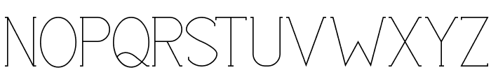 Espacio Font UPPERCASE