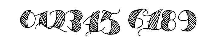 Espesor Olas Lines Font OTHER CHARS