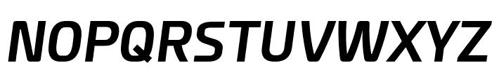 Esphimere Bold Italic Font UPPERCASE
