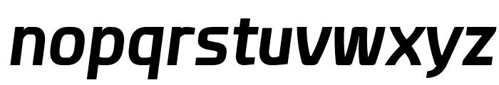 Esphimere Bold Italic Font LOWERCASE