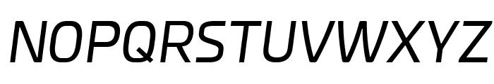 Esphimere Italic Font UPPERCASE