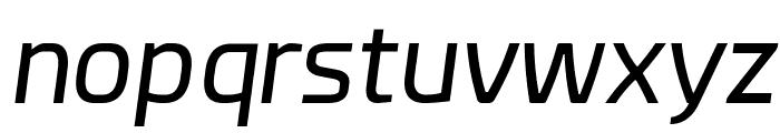 Esphimere Italic Font LOWERCASE