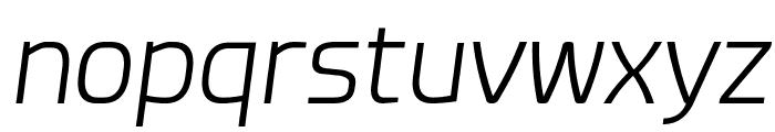 Esphimere Light Italic Font LOWERCASE