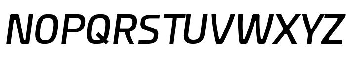 Esphimere Semi Bold Italic Font UPPERCASE