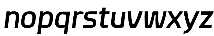 Esphimere Semi Bold Italic Font LOWERCASE