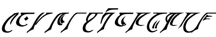 Espruar Bold Italic Font UPPERCASE