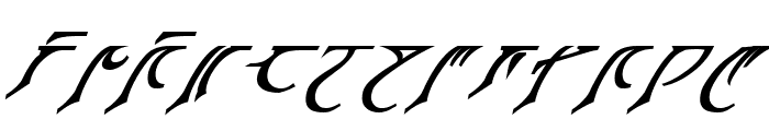 Espruar Bold Italic Font LOWERCASE