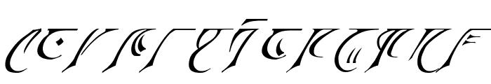 Espruar Italic Font LOWERCASE