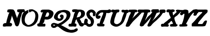 Essays 1743 Bold Italic Font UPPERCASE