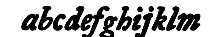 Essays 1743 Bold Italic Font LOWERCASE