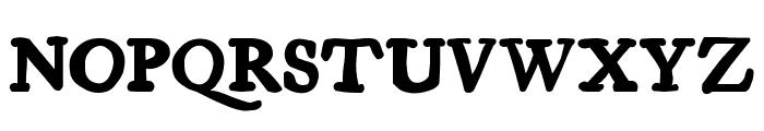 Essays 1743 Bold Font UPPERCASE