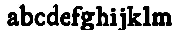 Essays 1743 Bold Font LOWERCASE