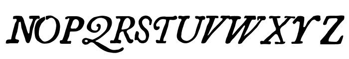 Essays 1743 Italic Font UPPERCASE
