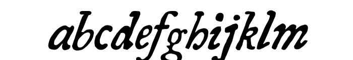 Essays 1743 Italic Font LOWERCASE