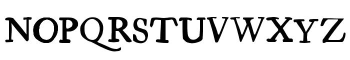 Essays 1743 Font UPPERCASE