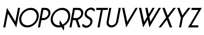 Essence Sans Bold Italic Font UPPERCASE