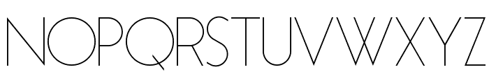 Essence Sans Light Font UPPERCASE