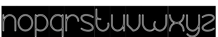 Essential Arrangement-Hollow-In Font LOWERCASE