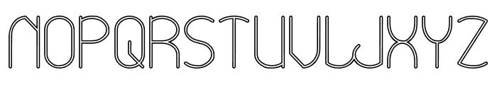 Essential Arrangement-Hollow Font UPPERCASE