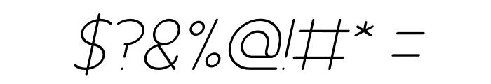 Essential Arrangement Italic Font OTHER CHARS