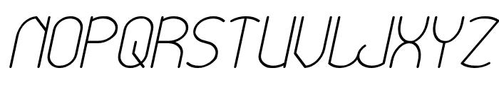 Essential Arrangement Italic Font UPPERCASE