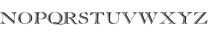 Essential Times Font UPPERCASE