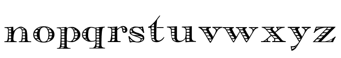 Essential Times Font LOWERCASE