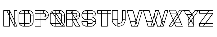 Essere Regular Font UPPERCASE