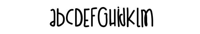 EstaNoche Font LOWERCASE