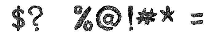 Estancofida tfb Font OTHER CHARS
