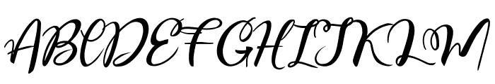 Esteh Font UPPERCASE