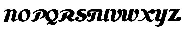 Estenotype Font UPPERCASE