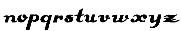 Estenotype Font LOWERCASE