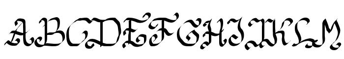 Estilographica Font UPPERCASE