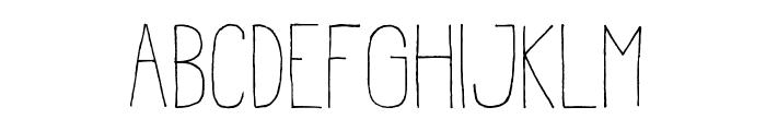 Estirada Molestar Font LOWERCASE