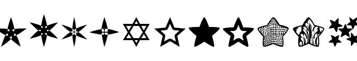 Estrellass TFB Font UPPERCASE