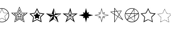 Estrellass TFB Font LOWERCASE