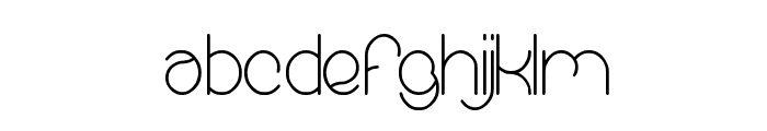 essential arrangement Font LOWERCASE