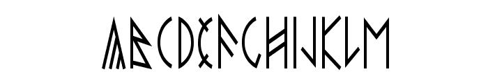 esthajnal Font LOWERCASE