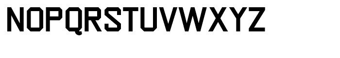 Escom Bold Font UPPERCASE