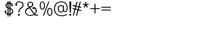 Esfera NF Regular Font OTHER CHARS