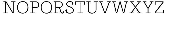 Esfera NF Regular Font UPPERCASE