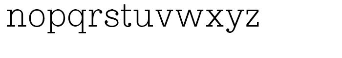 Esfera NF Regular Font LOWERCASE