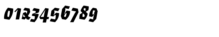 Eskapade Fraktur Black Italic Font OTHER CHARS